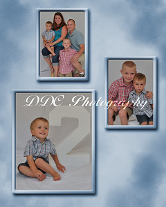 Collage sample #2 - 3-photo collage- 8x10 or 11x14 sizes only - available at collage print prices