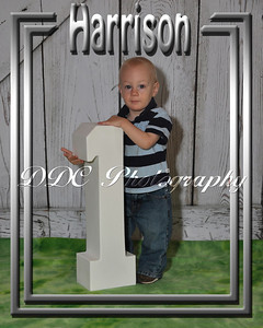 Single Portrait with Decorative Border - Sample 2 - available in 4 different sizes