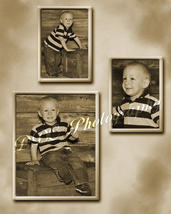 3 photo collage sample2 - 8x10 or 11x14 sizes only - available at collage print prices