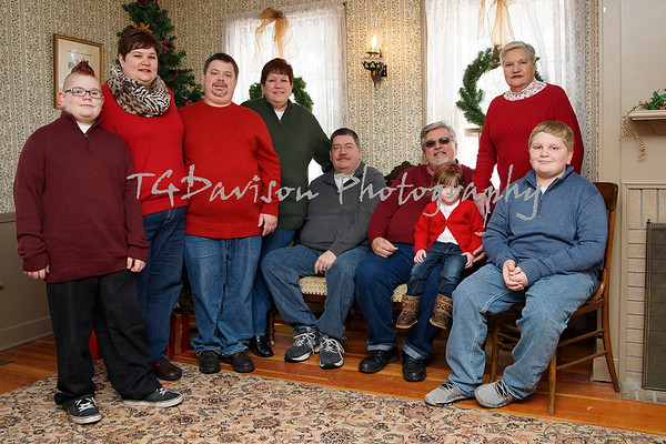 Christmas Photo Shoot Midway Village 2014
