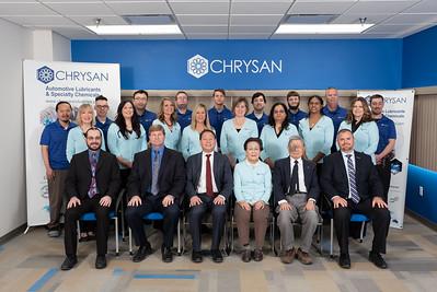 Chrysan Industries 2018 Portraits
