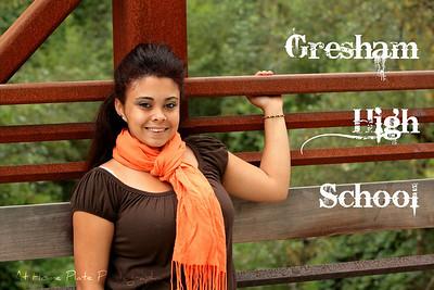Gresham High Senior - Janelle
