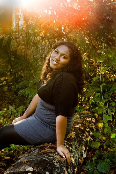 Senior Monique Ramirez - class of 2012 - Reynolds High School