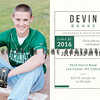 DEVIN bANKS 5x7 back green