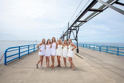 Senior at the pier 2046