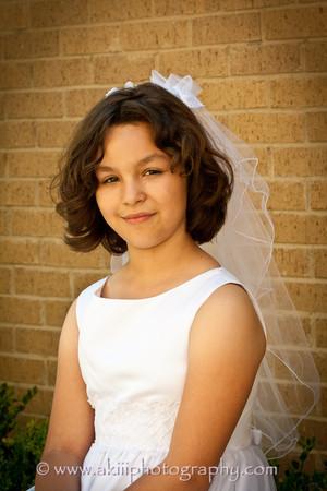 Claudia First Communion-41