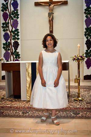 Claudia First Communion-14