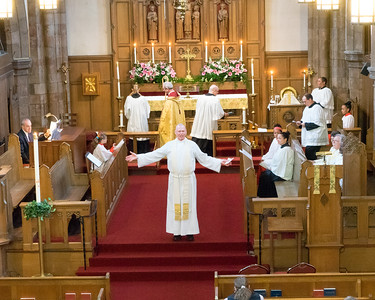 Installation of  Rev John Clark as Rector, St Paul Episcopal Church, Malden