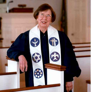 Interim Minister, Rev Doris Hunter, Unitarian Church