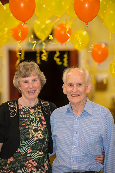 Doris and Alan's  80th