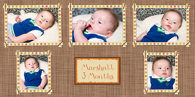 Marshall 3 month collage