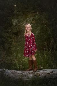 child fall portrait