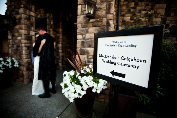 Colquhoun Wedding