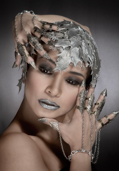 grey-and-silver