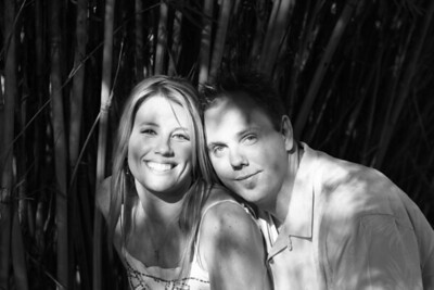 Cori and Steve Engagement Photos B&W 2/11/06