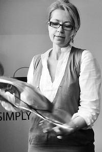 Usine Codentel. Isabelle Ravisse, Responsable du Commercial et de la Communication (Calais)