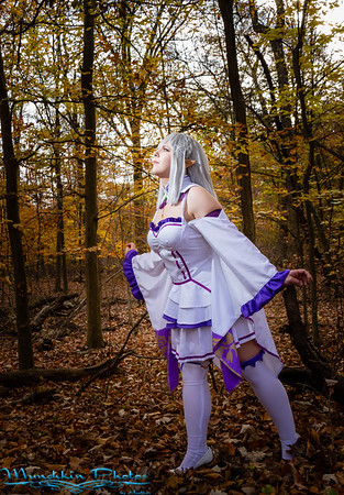 Nonsense Noah as Emilia from Re:Zero