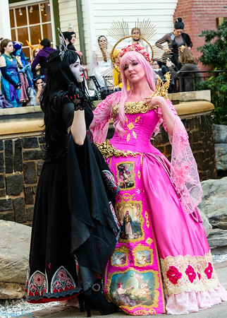 Princess Bubblegum & Vampire Queen from Adventure Time by Cowbutt Crunchies Cosplay