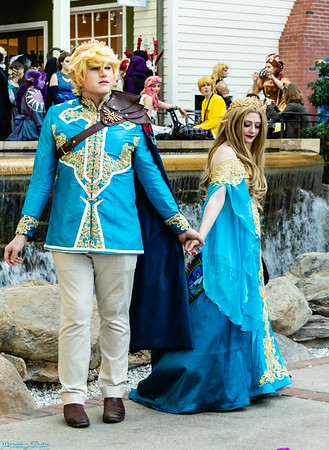 Link & Zelda by Owl & Coffee and Zavage Cosplay