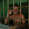 Inmate, Reforma Jail maximum security, Costa Rica, 2011.