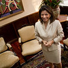 First female President of Costa Rica, Laura Chinchilla at the presidential house, Costa Rica, 2010.