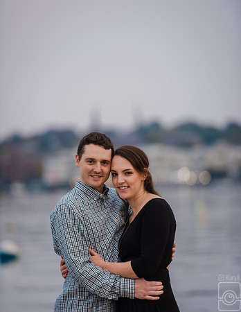 Cait & Max Engaged,  Newport RI