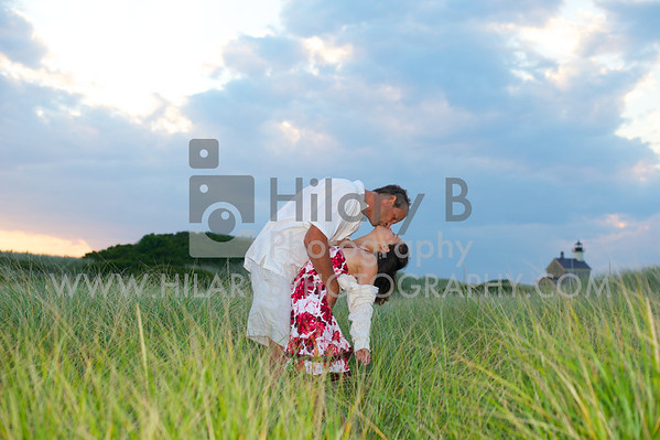 Christine & Kurt Engaged, Block Island RI