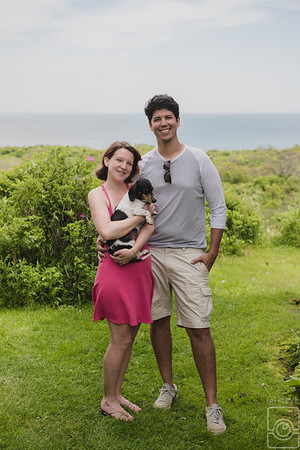Emma Rose and RJ Engaged, Sea Breeze Inn, Block Island RI