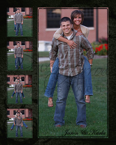 Jaron and Karla Jump Back Collage