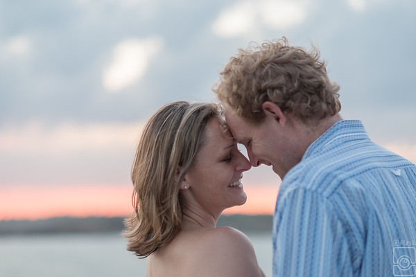 Jessica & Trevor Engaged & Family, Cliff Walk, Ledge Road Newport RI