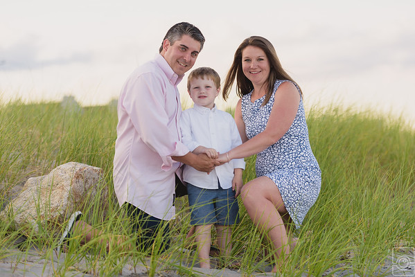 Declan, Lauren and Ken Engaged Family, South County RI