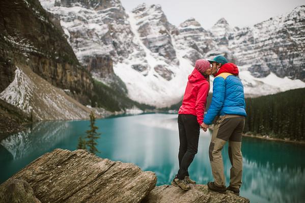 Moraine Lake Couple