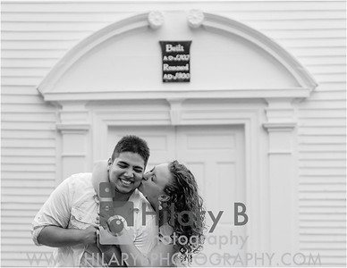 Sarah and Peter Engaged Wickford Narragansett RI