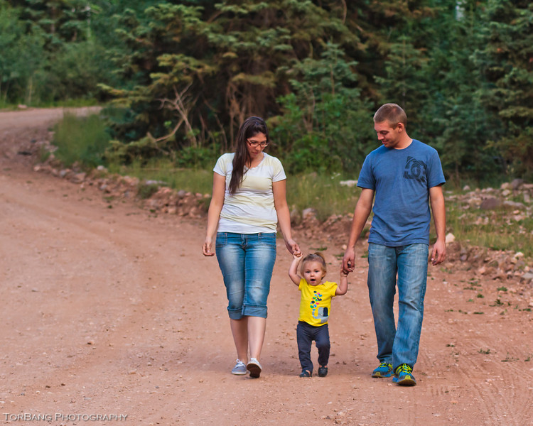 Coutlee Family Portraits in Brian Head, UT, TorBang Photography