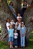 Grandma & Grandpa surrounded by all the grandkids