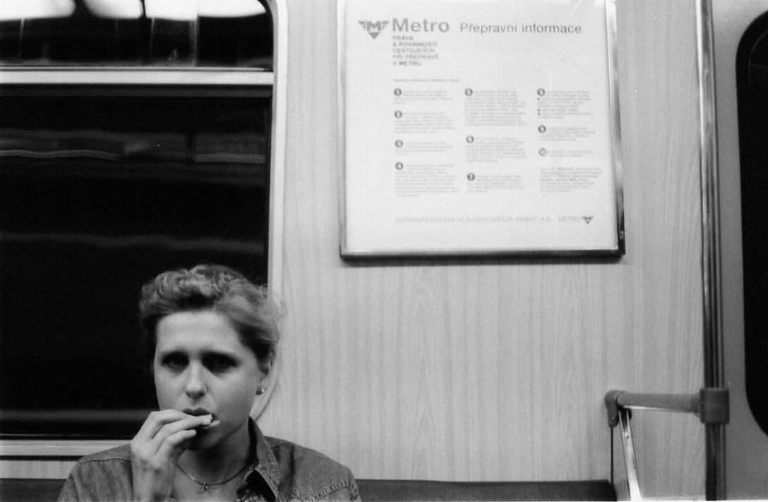 Gabriela - Prague, 1995