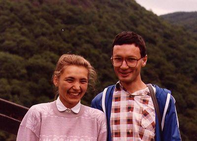 Renata & Honza - Usti nad Labem, 1990
