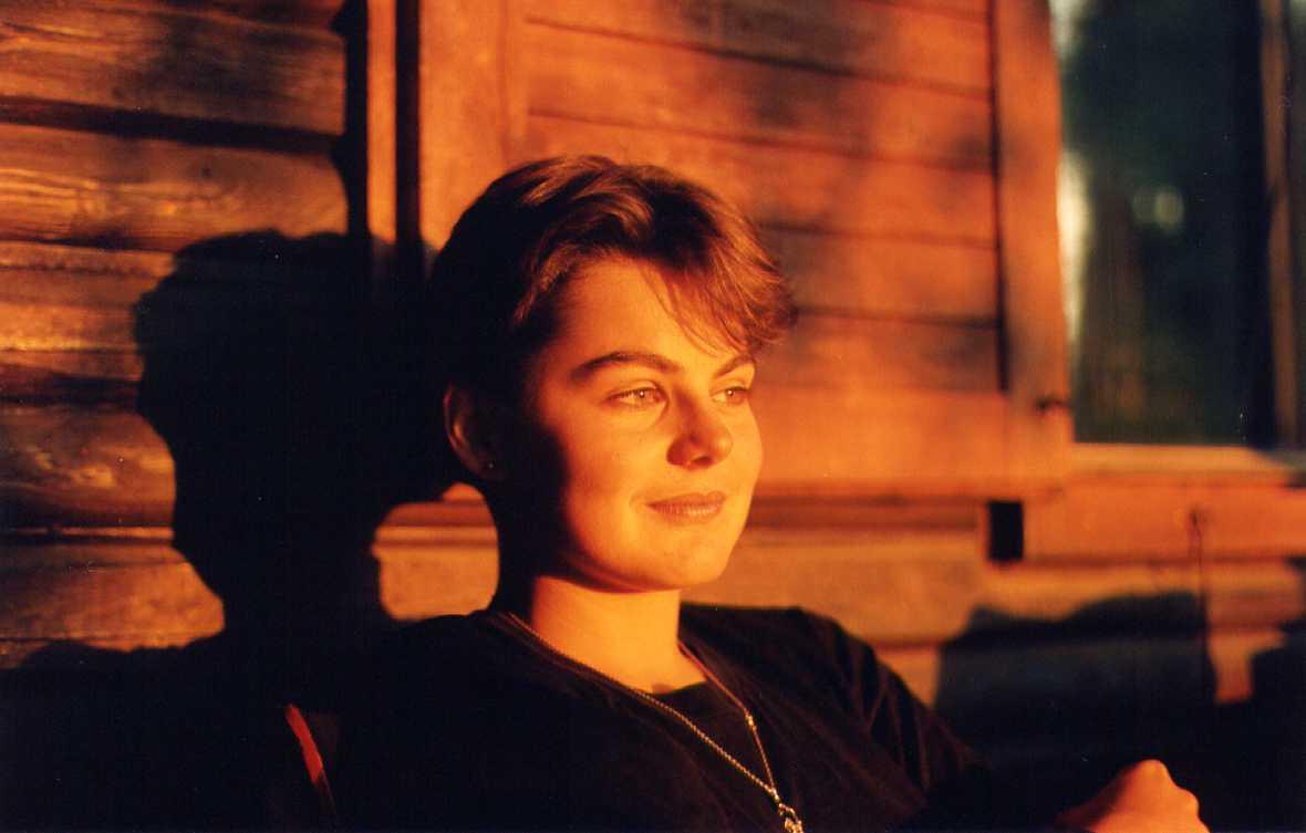 Jana - southern Bohemia, 1991