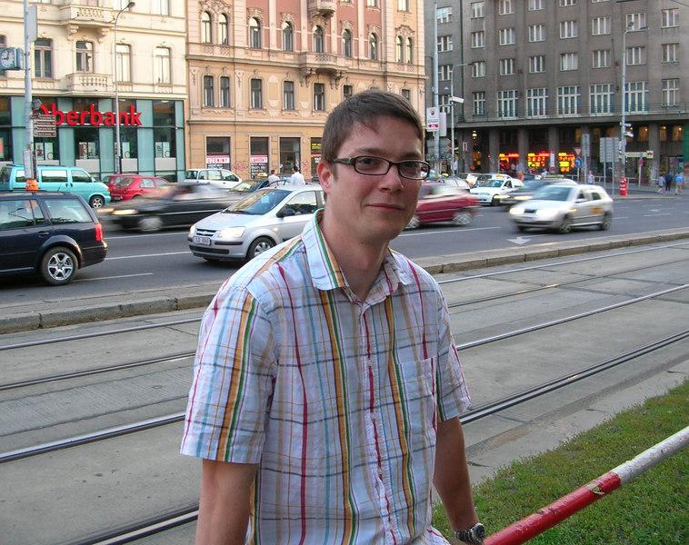 Jan - Prague, 2006