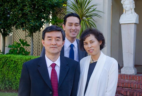 David Choi & Family
