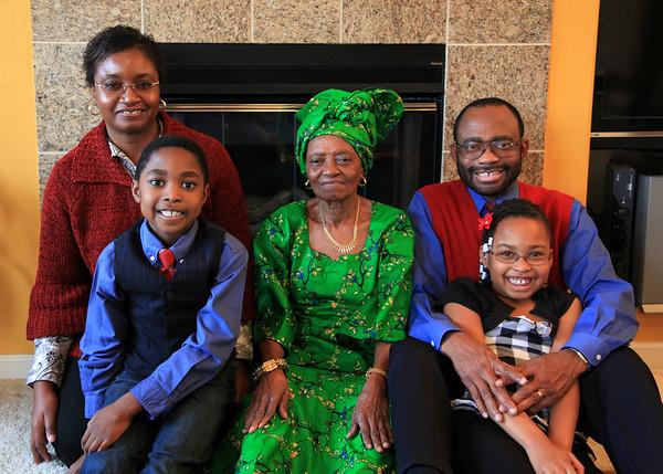 David & Uzo Family