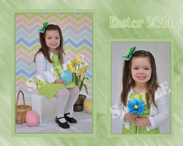 Spring 2 Photo Collage Sample w/ photos