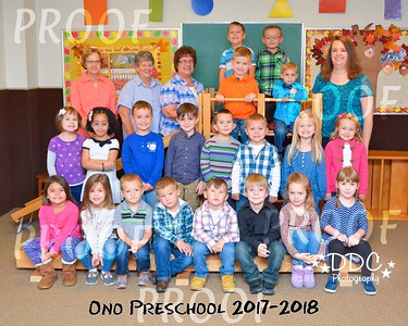Ono Preschool - Fall 2017