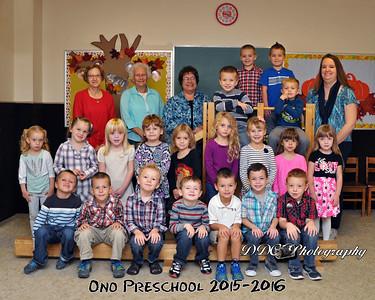 Ono Preschool - Fall 2015