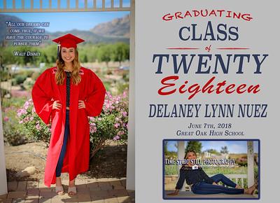 Delaney Grad Announcement