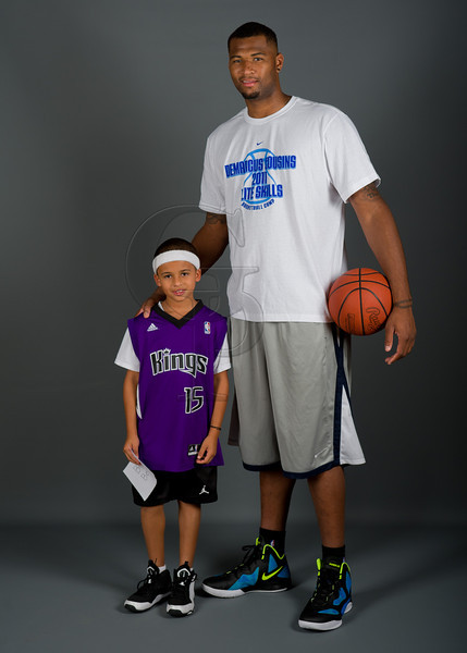 demarcus cousins for the 2011 demarcus cousins elite skills camp