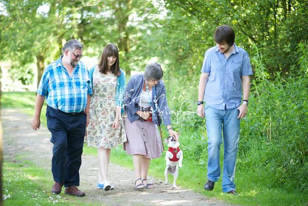 Diane Family Portrait