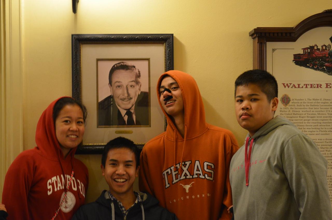 Kids and Walt