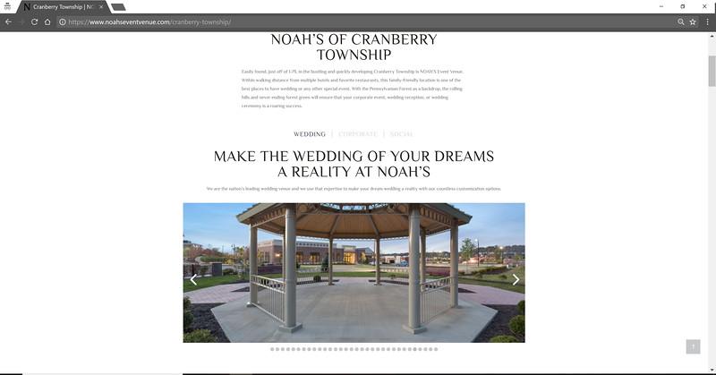 Noahs Event Venue Facility