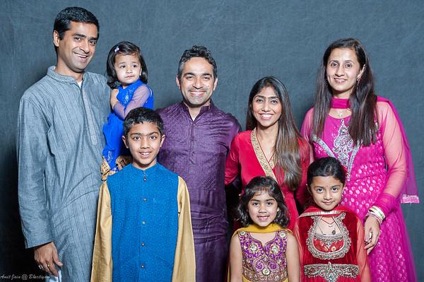 Bhartiyam Diwali 2014 Family Portrait